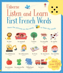 Listen and Learn First Words in French, Board book Book