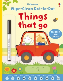Wipe-Clean Dot-to-Dot Things That Go, Paperback Book