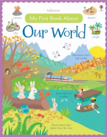 My First Book About Our World [Library Edition], Hardback Book