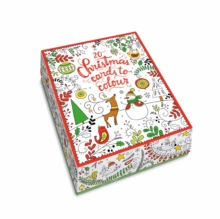 20 Christmas Cards to Colour, Undefined Book