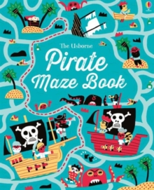 Pirate Maze Book, Paperback Book