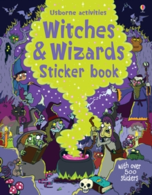 Witches and Wizards Sticker Book, Paperback Book