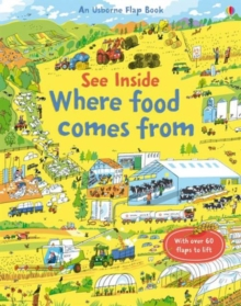See Inside Where Food Comes from, Board book Book