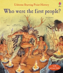 Who Were the First People?, Hardback Book
