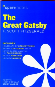 The Great Gatsby SparkNotes Literature Guide, Paperback Book