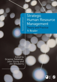 Strategic Human Resource Management : Theory and Practice, Paperback Book