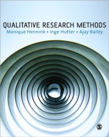 Qualitative Research Methods, Paperback Book