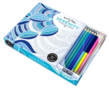 Vive le Color! Serenity (Coloring Book and Pencils) : Color Therapy Kit, Kit Book