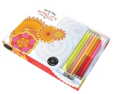 Vive le Color! Vitality (Coloring Book and Pencils) : Color Therapy Kit, Kit Book