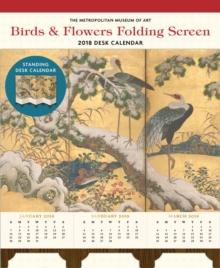 Birds and Flowers Folding Screen 2018 Desk Calendar