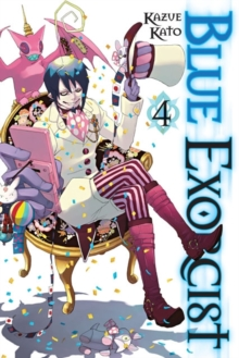 Blue Exorcist, Vol. 4, Paperback Book