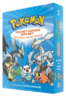 Pokemon Pocket Comics Box Set, Hardback Book