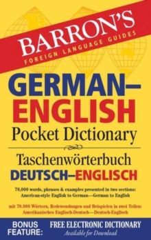 Barron's German English Pocket Dictionary