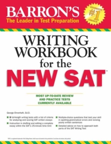 Barron's Writing Workbook for the New SAT, 4th Edition, Paperback Book