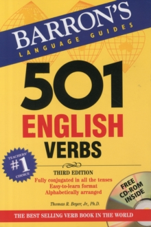 501 English Verbs, Paperback Book