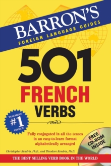 501 French Verbs, Mixed media product Book