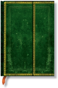 OLD LEATHER JADE MIDI JOURNAL, Hardback Book