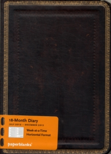 2013 BLACK MOROCCAN MINI DIARY,  Book