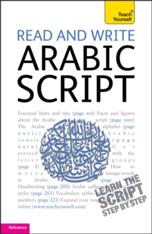 Read and Write Arabic Script (Learn Arabic with Teach Yourself), Paperback Book