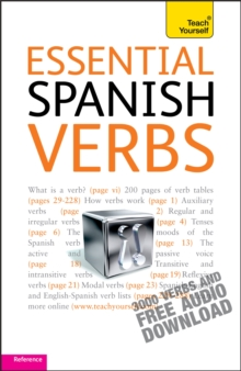 Essential Spanish Verbs: Teach Yourself, Mixed media product Book