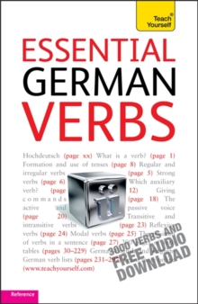 Essential German Verbs: Teach Yourself, Mixed media product Book