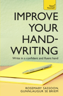 Improve Your Handwriting: Teach Yourself, Paperback Book