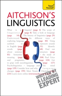 Aitchison's Linguistics: Teach Yourself, Paperback Book