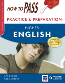 How to Pass Practice Papers : Higher English, Paperback Book