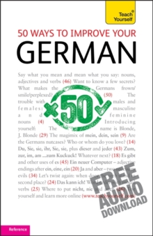 50 Ways to Improve Your German: Teach Yourself, Mixed media product Book