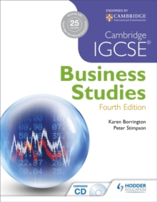 Cambridge IGCSE Business Studies, Paperback Book