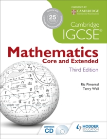 Cambridge IGCSE Mathematics Core and Extended, Mixed media product Book