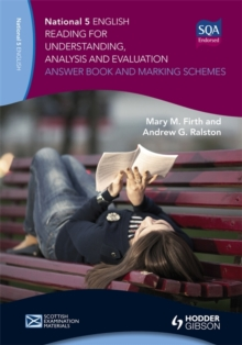 National 5 English: Reading for Understanding, Analysis and Evaluation Answer Book and Marking Schemes, Paperback Book