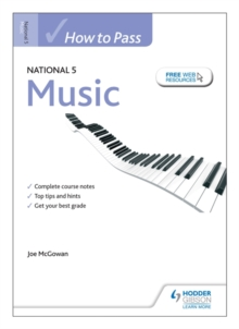 How to Pass National 5 Music, Paperback Book
