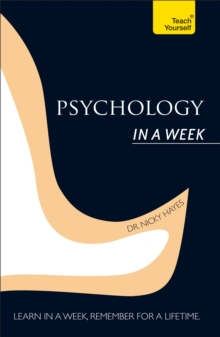 Psychology in A Week: Teach Yourself, Paperback Book