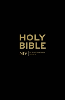 Holy Bible - NIV Anglicised Black Gift and Award, Paperback Book