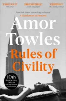 Rules of Civility, Paperback Book