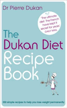 The Dukan Diet Recipe Book, Paperback Book