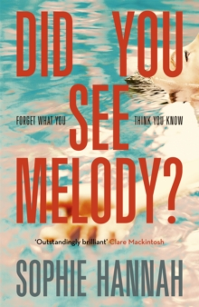 Did You See Melody?, Hardback Book