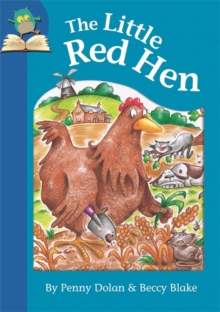 The Little Red Hen, Paperback Book