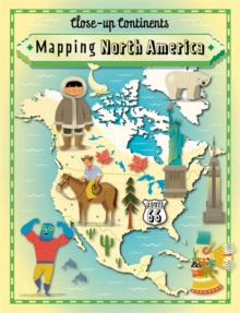 Mapping North America, Hardback Book