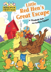 Little Red Hen's Great Escape, Paperback Book