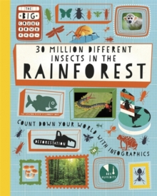 30 Million Different Insects in the Rainforest, Paperback Book