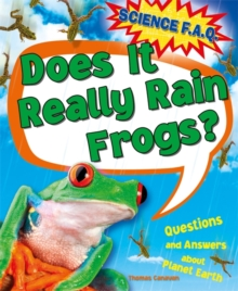 Does it Really Rain Frogs?, Paperback Book