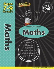 Gold Stars KS2 Maths Workbook Age 7-9, Paperback Book