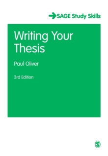 Writing Your Thesis, Paperback Book