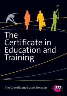 The Certificate in Education and Training, Paperback Book