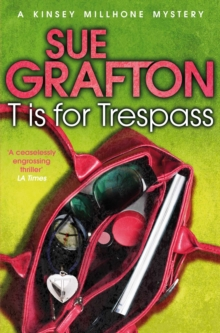 T is for Trespass, Paperback Book