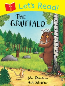 Let's Read! The Gruffalo, Paperback Book