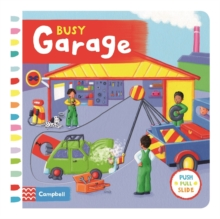 Busy Garage, Board book Book