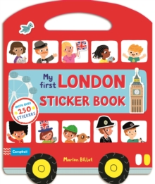 My First London Sticker Book, Paperback Book